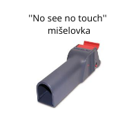 ''No see no touch'' mišelovka