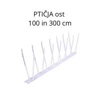 PTIČJAost 100 in 300 cm
