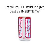 Premium LED mini lepljiva past za INSEKTE 4W
